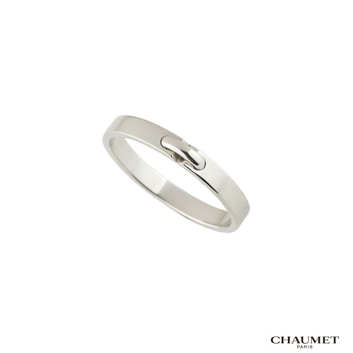 Chaumet Liens Gents Platinum Band